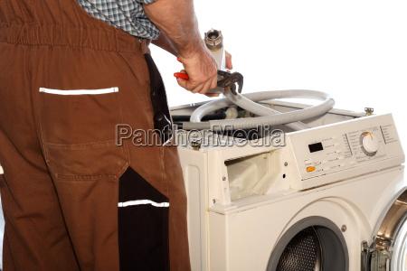 repair the washing machine