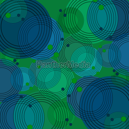 abstract geometric background scattered concentric circle