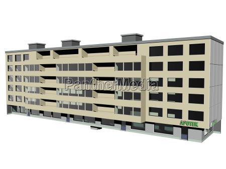optional block of flats in big