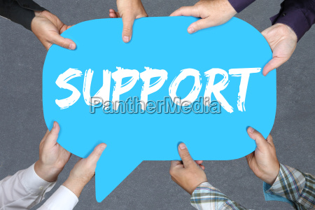 group people keep support help with