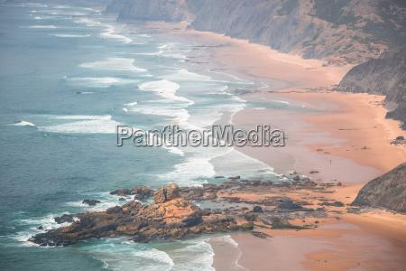 castelejo sandy beach famous place for