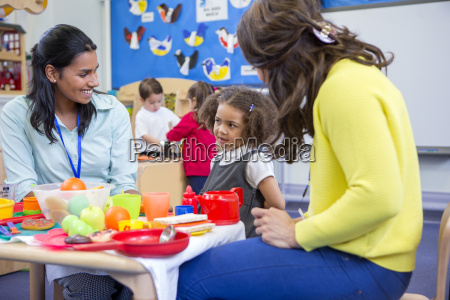 roleplay kitchen at nursery