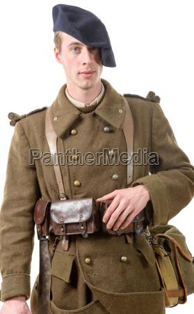40erne fransk soldat