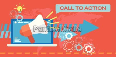web marketing llamada a la accion