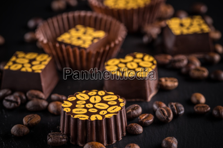coffee chocolate truffles