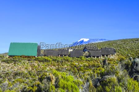 huts at mount kilimanjaro the highest