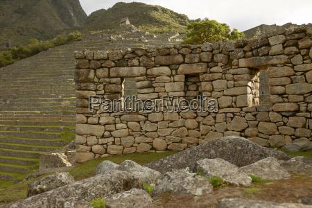 ruins of lost incan city machu