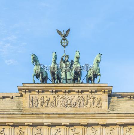 brandenburg gate brandenburger tor in berlin