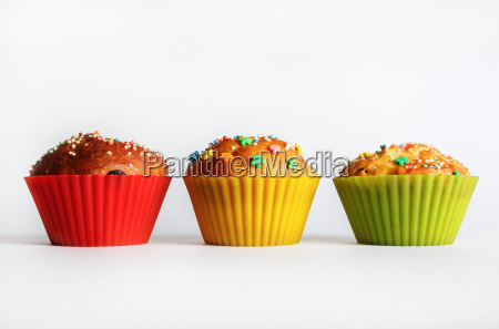 appetizing sweet muffins