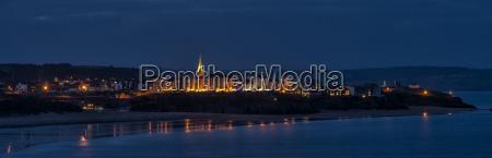 uk wales pembrokeshire panoramic view of