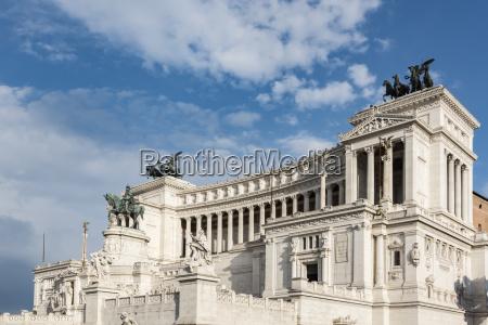 italy lazio rome monumento a vittorio