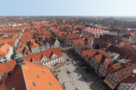germany lower saxony celle city view