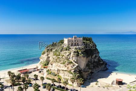 italy calabria tropea pilgrimage church santa