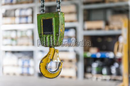hook of hoist