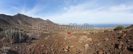 spain canary islands fuerteventura road to