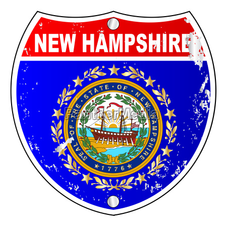 new hampshire flag icons as interstate