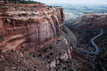 rock formation colorado national monument colorado