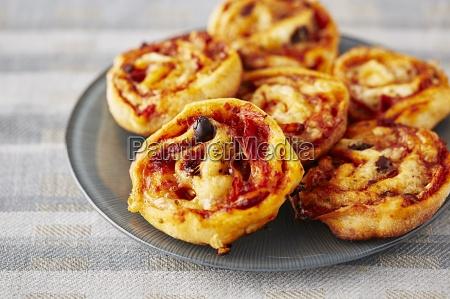 pizza bites finger food