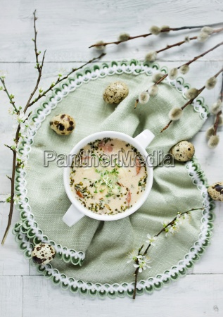 horseradish soup traditional easter soup from