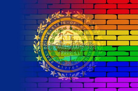 rainbow wall new hampshire