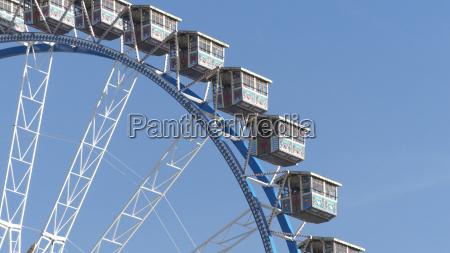 big ferries wheel at oktoberfest munich