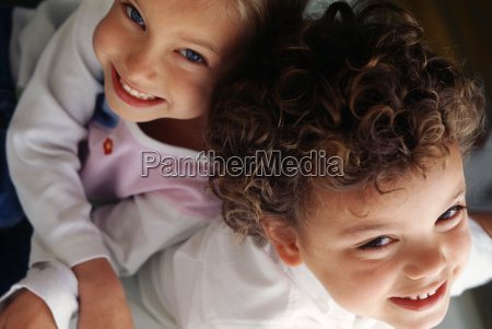 portrait brother and sister
