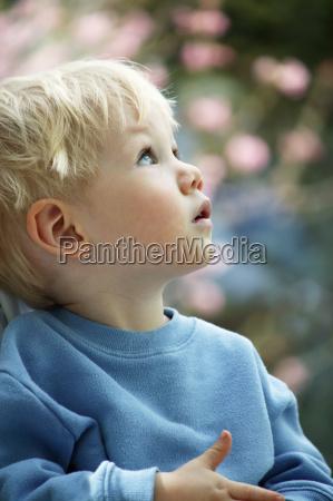 portrait young boy