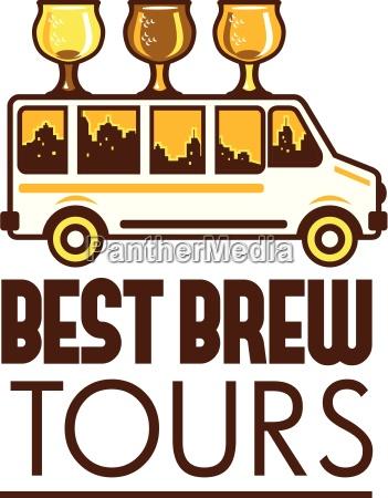 beer flight glass van best brew