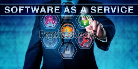 licensee pressing software as a service