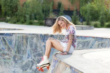 lovely roller girl