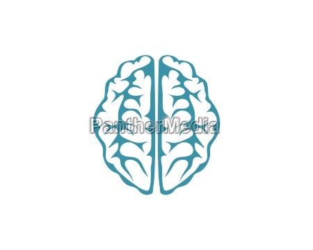 brain logo template