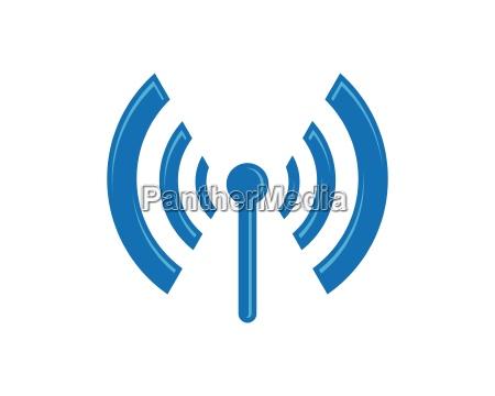 wireless logo template