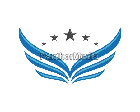 falcon logo template