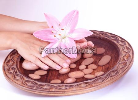 hands spa concept