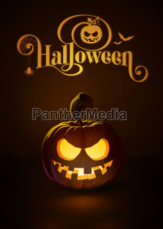 jack o lantern dark toothy smile