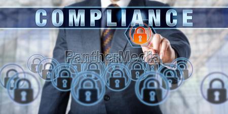 enterprise manager pressing compliance