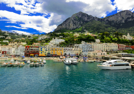 capri island italy near naples
