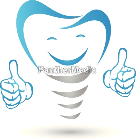dental implant dental implant with hands