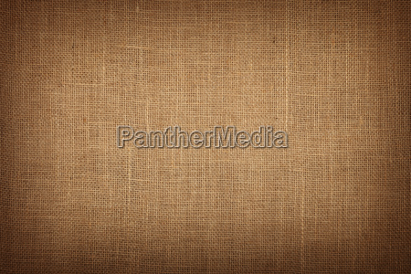 brown burlap jute canvas background with