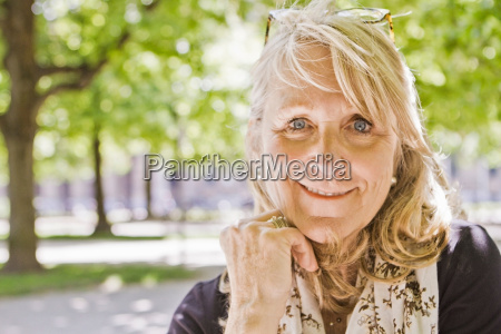close, up, of, older, woman?s, smiling - 18162178