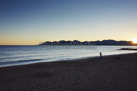 tranquil scene french riviera cannes france