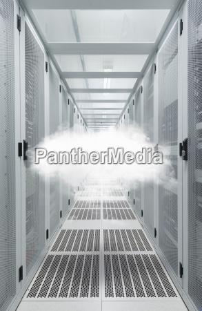 mid air cloud in data centre