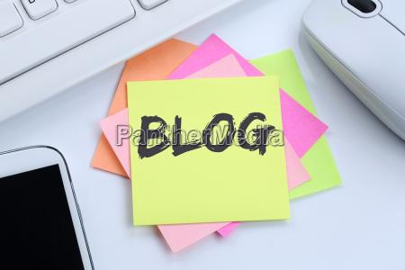blog write blogger online in internet