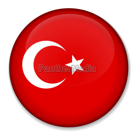 national flag of turkey on a