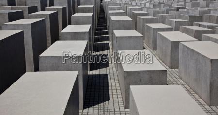 close up of concrete sculptures