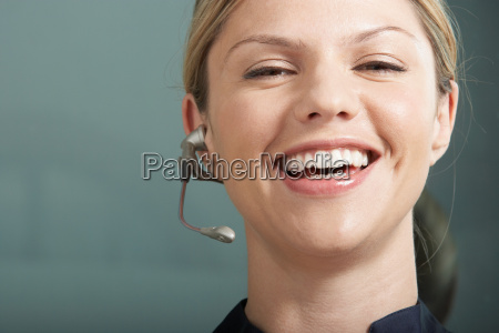 close-up, portrait, of, business, woman - 18265046