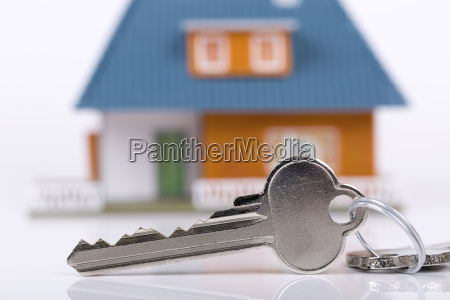 keys and house concept of buying