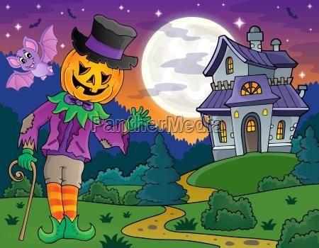 halloween theme figure image 4