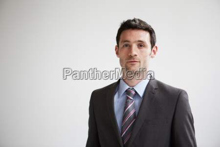 candid portrait of businessman