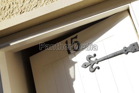 front door open ajar number fifteen